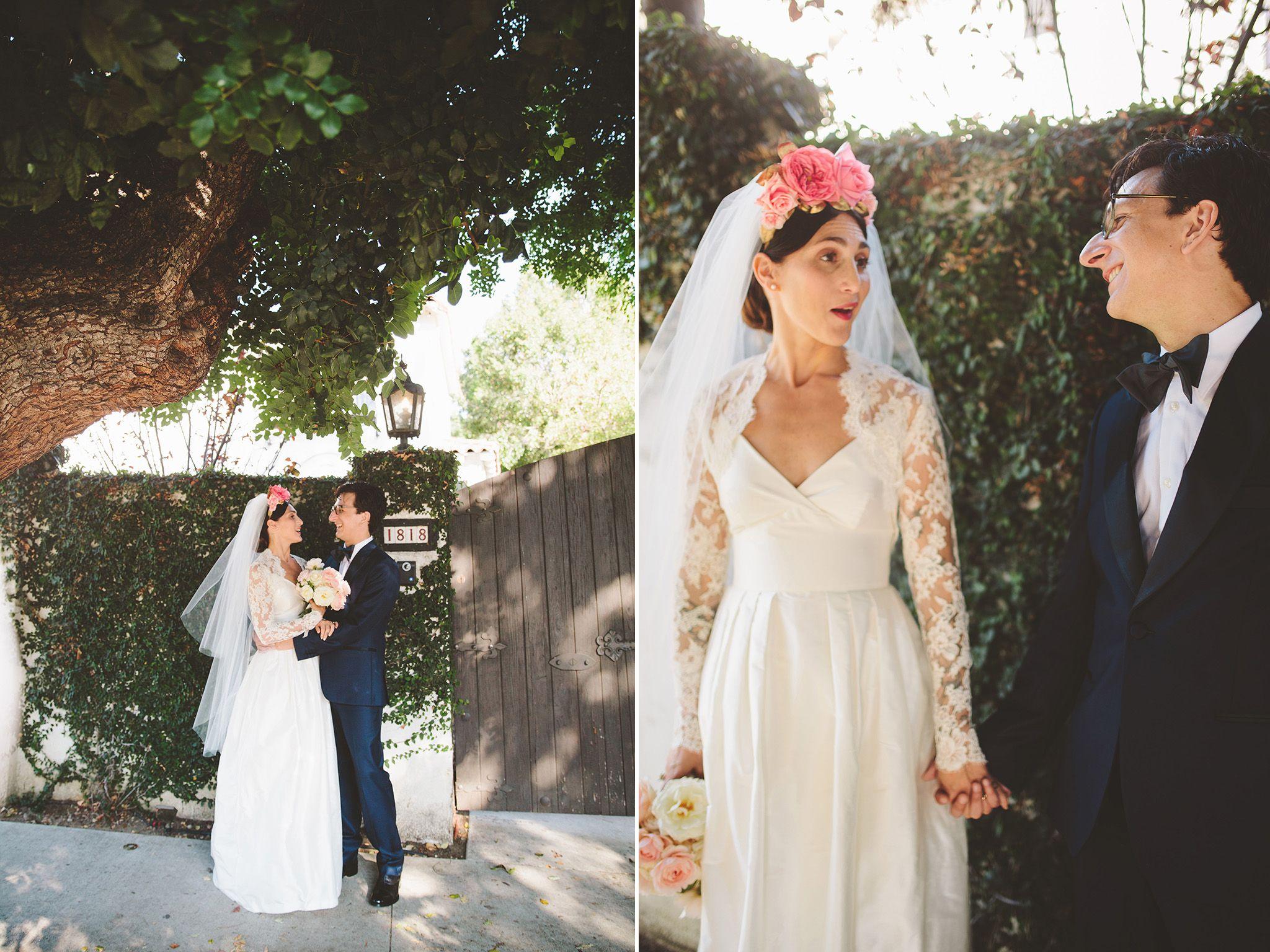 eclectic hollywood wedding lesley arfin paul rust