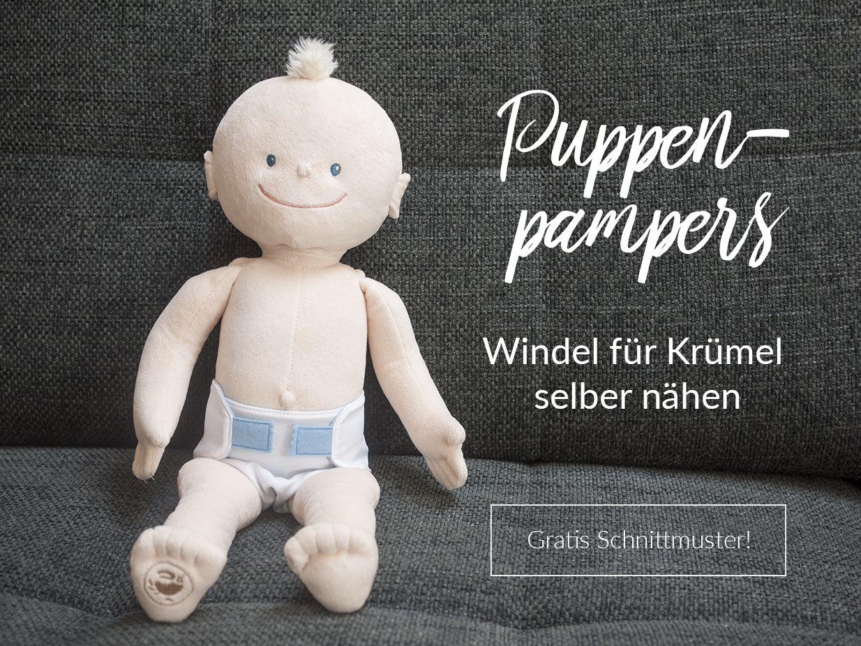 Puppenpampers - Windeln für die Krümel-Puppe selber nähen   Worth ...