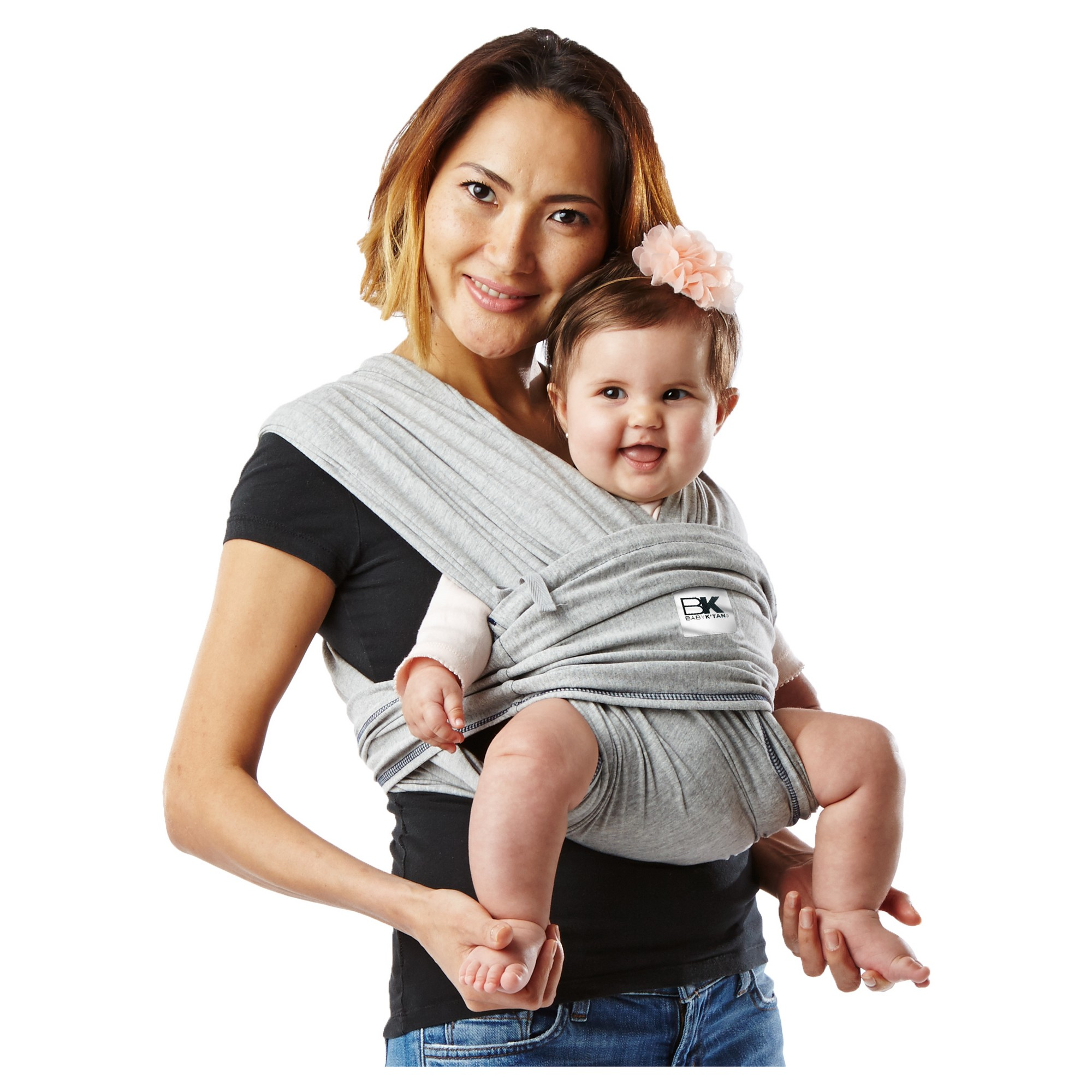 Baby Ktan ORIGINAL Cotton Wrap-style Baby Carrier Black X-small