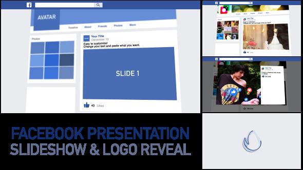 Facebook Presentation Slideshow Logo Reveal Logo Reveal Presentation Photo Presentation