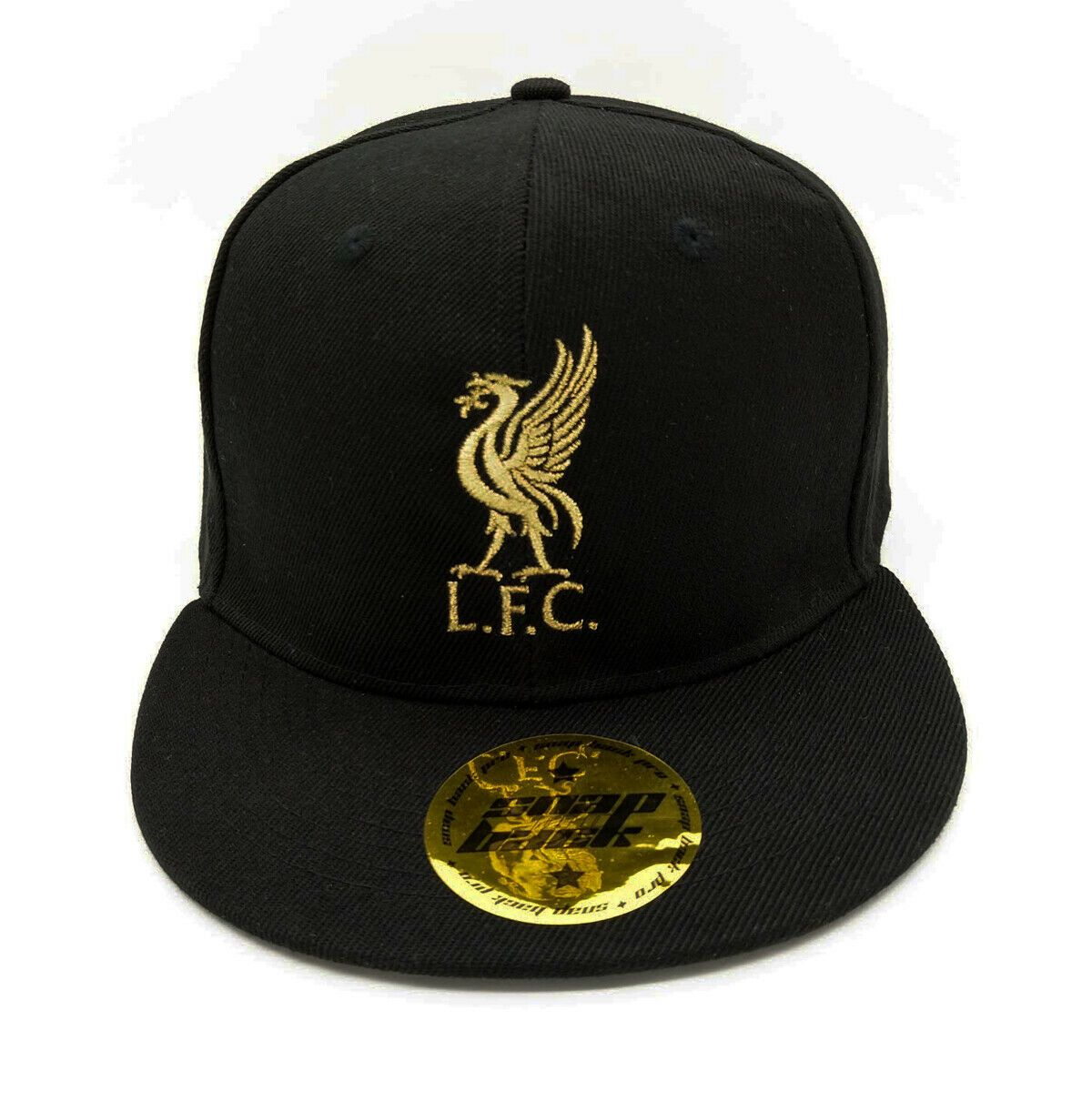 f76cd3364f4 Liverpool FC Core Snapback Cap Black Gold Free Worldwide shipping from EU