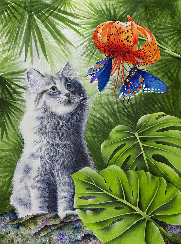Carolyn Steele | Раскраски с животными, Тропическое ...