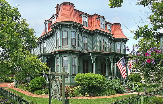 Image result for cape may houses