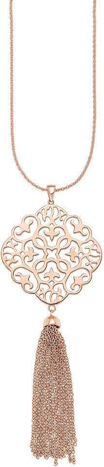 Amor necklace with pendant, »Tassel, E98 / 9 529129« Order now at: mode.l ...  #529129 #DamenSchmuckHalskette #necklace #order #pendant #tassel