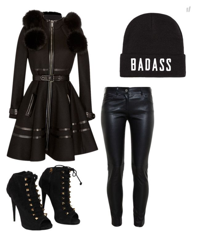 """""""Untitled #8"""" by we-are-the-mcrmy on Polyvore featuring Elie Saab, Balenciaga and Giuseppe Zanotti"""