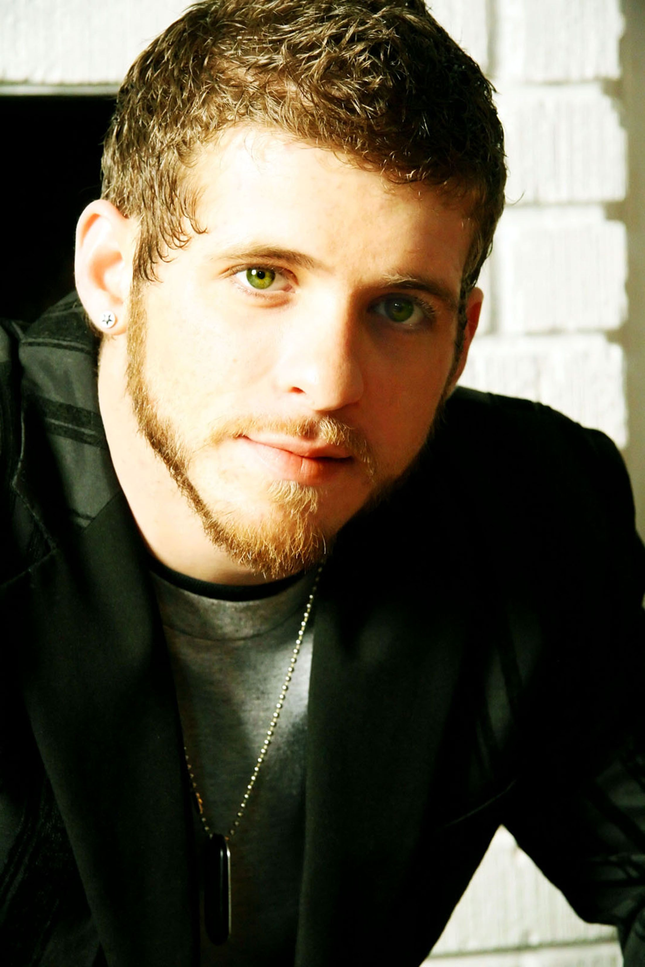 Brantley Gilbert, without his trademark ball cap