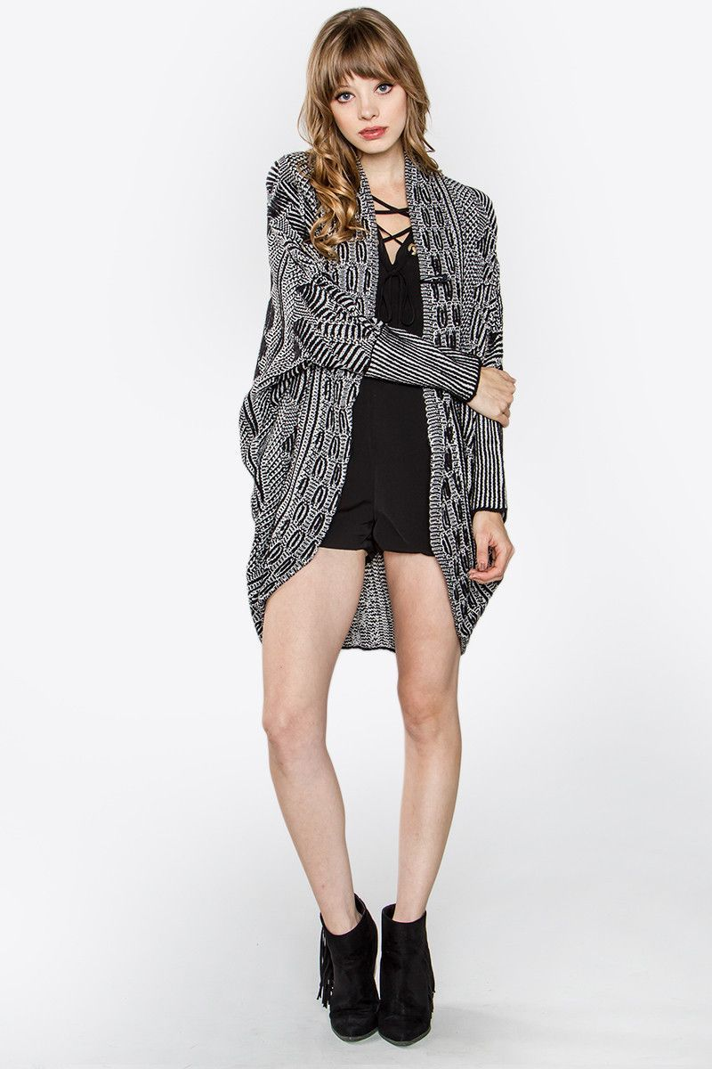Chic Oversized Cardigan Sweater | Products | Pinterest | Products