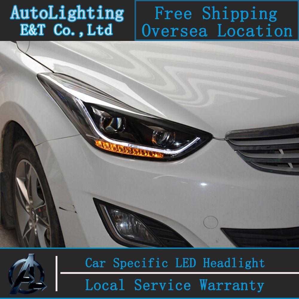 Hyundai Elantra: Headlight bulb