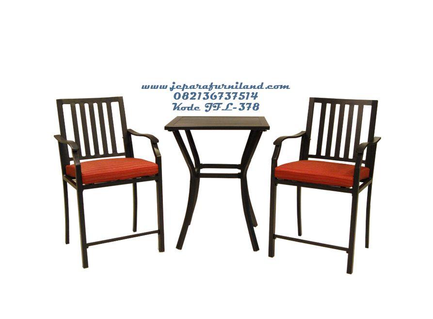 loweu0027s garden hidden river aluminum patio set with striped red cushions - Garden Treasures Patio Furniture