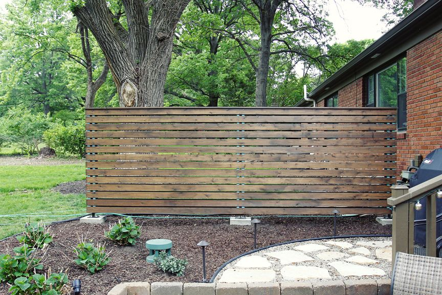 Patio Privacy Screen | Office Exterior | Pinterest | Patio ...