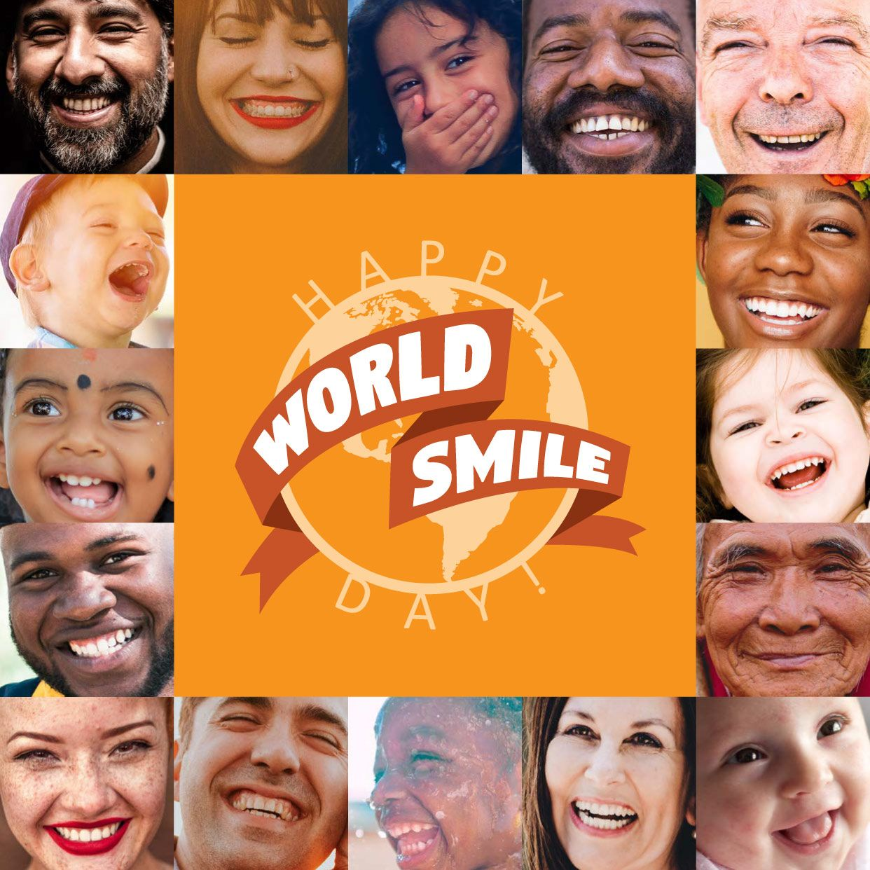 Happy world smile day who will you share your smile with