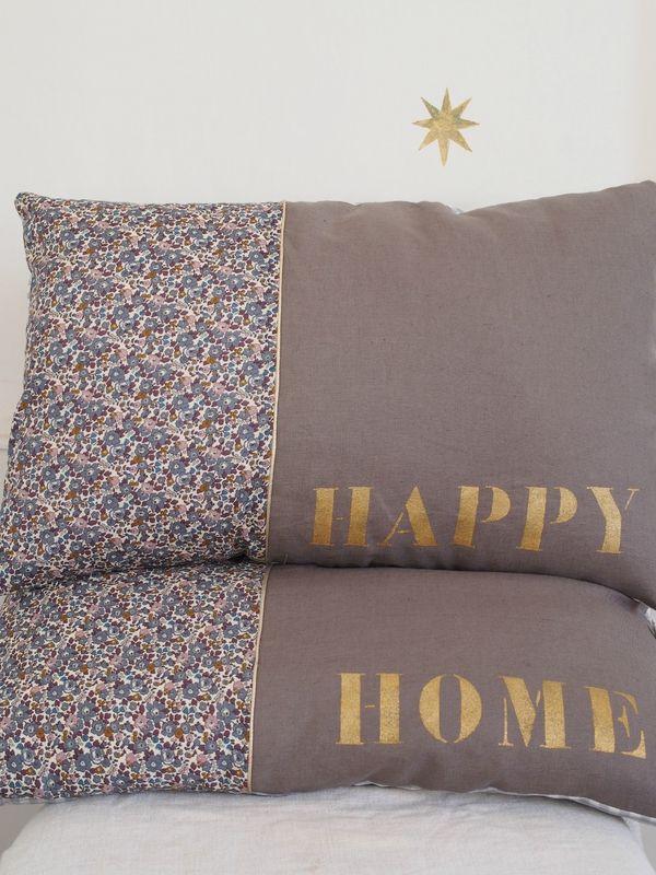 housses de coussin 40x60 faire les critures en broderie. Black Bedroom Furniture Sets. Home Design Ideas