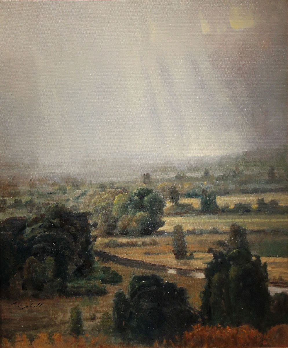 """Rain in the Valley"" by Peter Campbell 