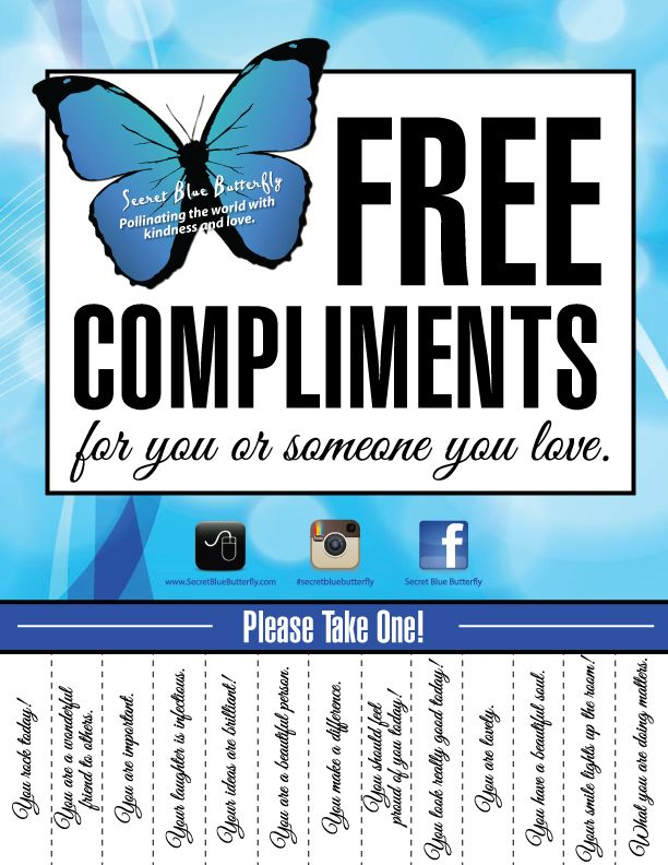 Free Compliments Love One Another Pinterest Compliments