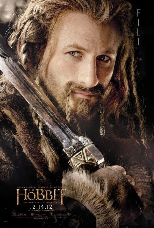 Fili - 12.14.12 Hobbit: An Unexpected Journey Ohhhhhh.... I'm sorry the first guy had to quit but I do love Dean! XD