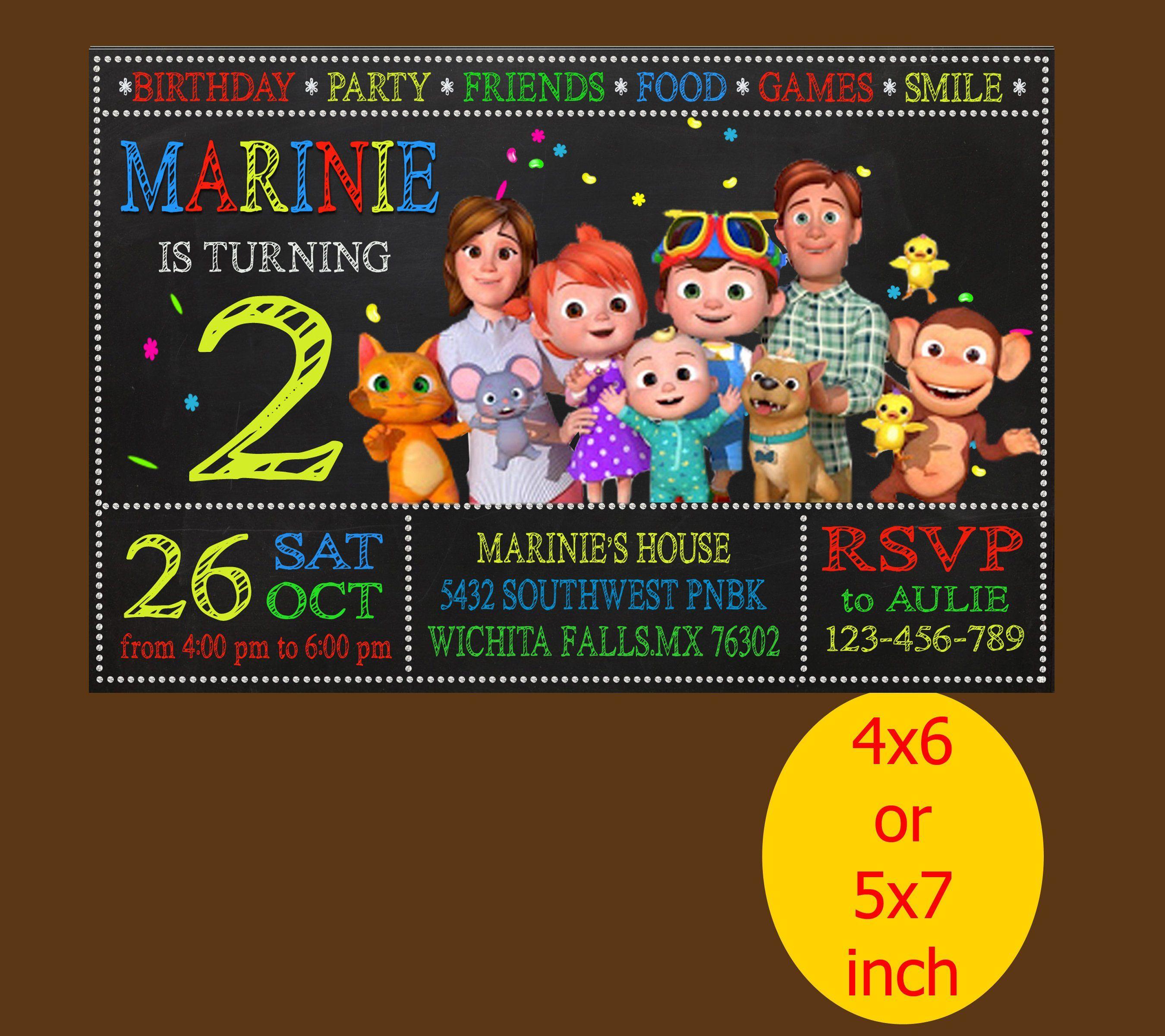 themes baby birthday invitation card