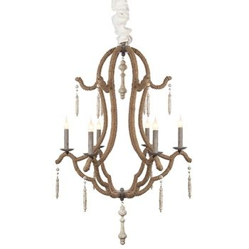 Alys chandelier l628 chan by aidan gray · french chandelierwood bead chandelierantique mirrorshouse lightingproduct