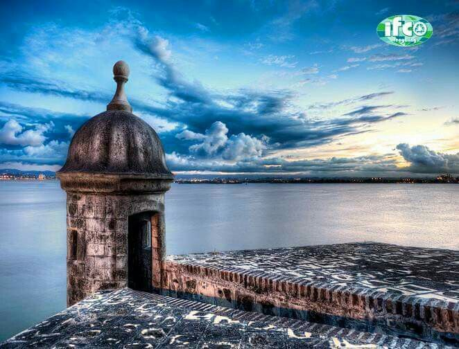 Bella mi isla... Viejo San Juan, P.R.