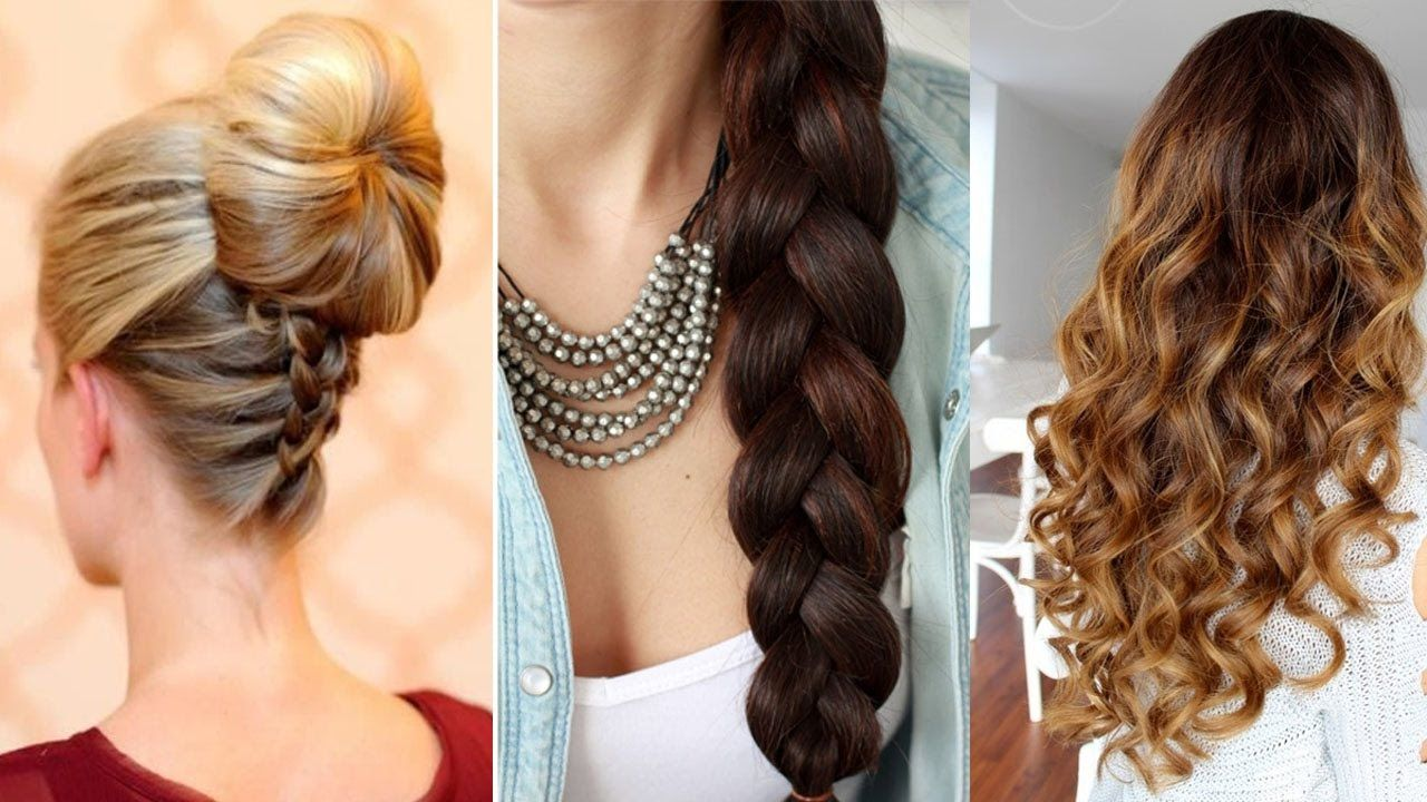 3 easy #hairstyles to do yourself step by step | how to do