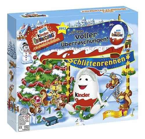 Ferrero Kinder Surprise Eggs Advent Calendar 2013 Kinder