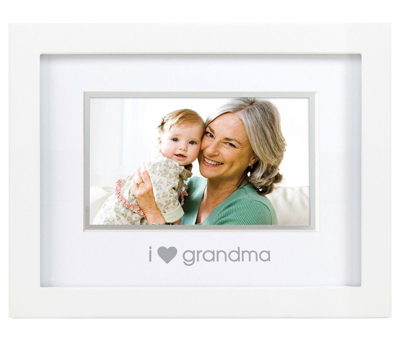 I Love Grandma Sentiment Frame   The Stork Nest   Mother\'s Day ideas ...
