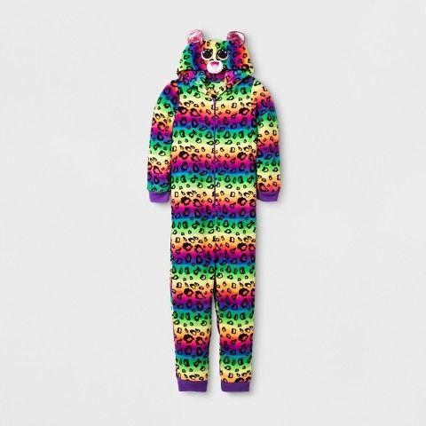 Beanie Boos Girls  Beanie Boos Union Suit Sleepwear  1c401ea5898
