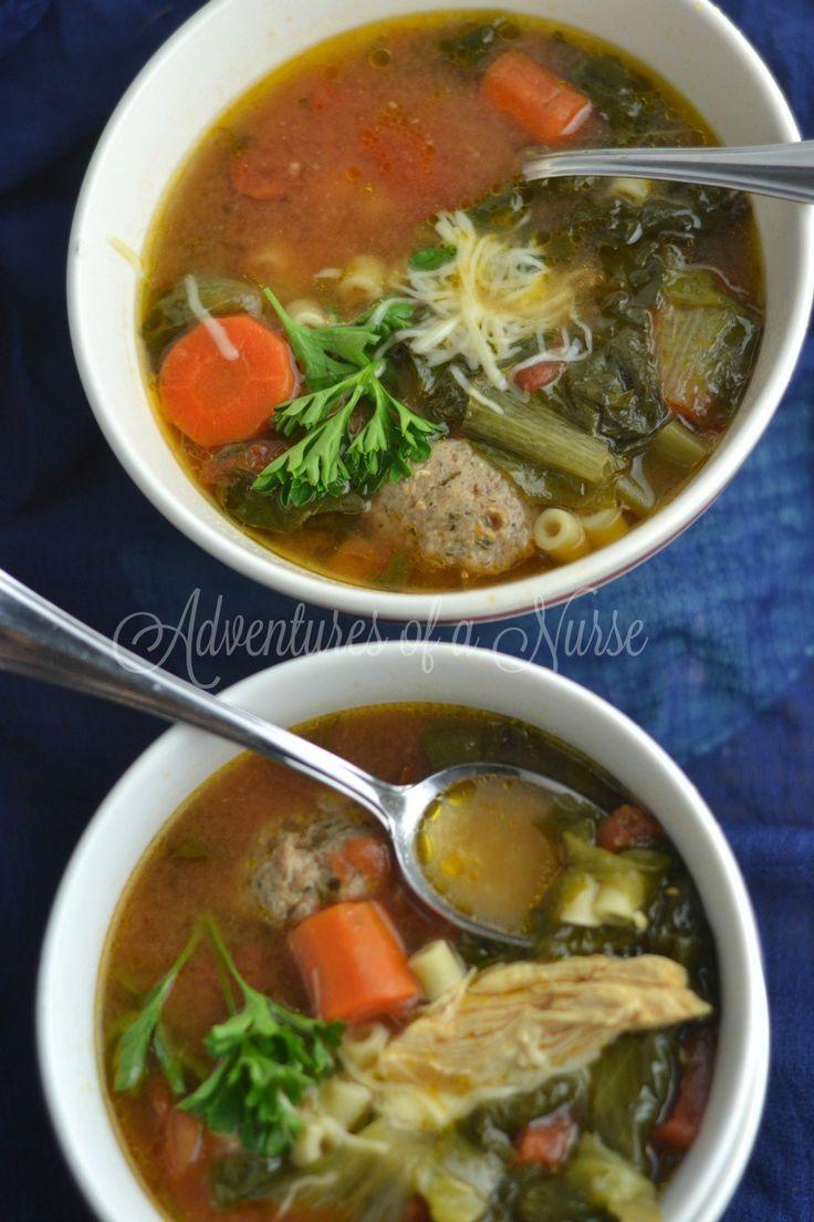 Instant Pot Italian Wedding Soup Recipe Instant pot