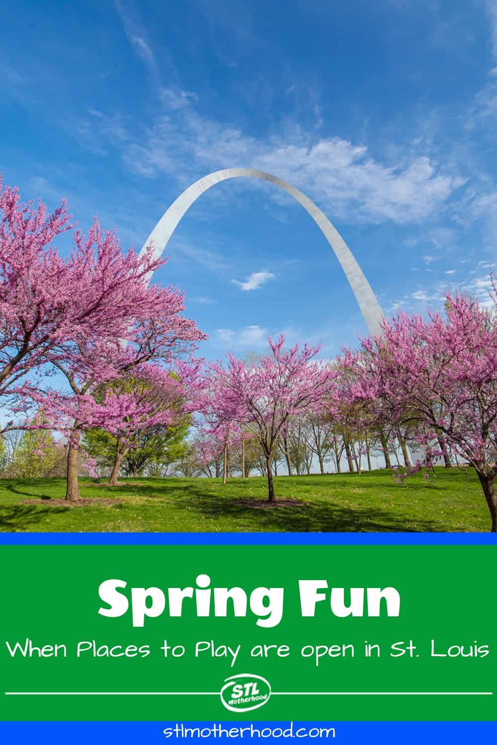 What S Open Spring Fun In St Louis