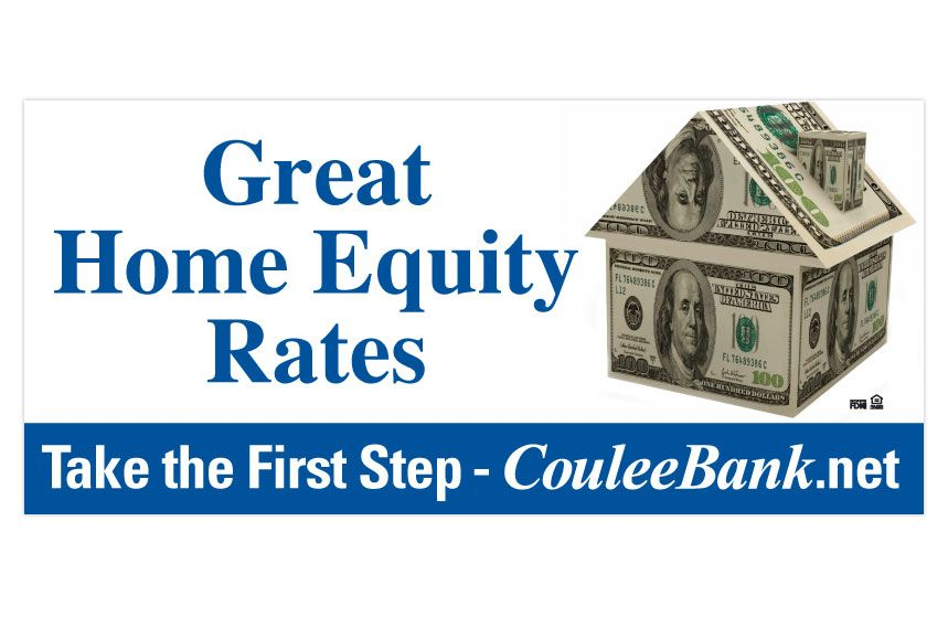 Coulee Bank Home Equity Line of Credit Billboard | Billboards by The ...