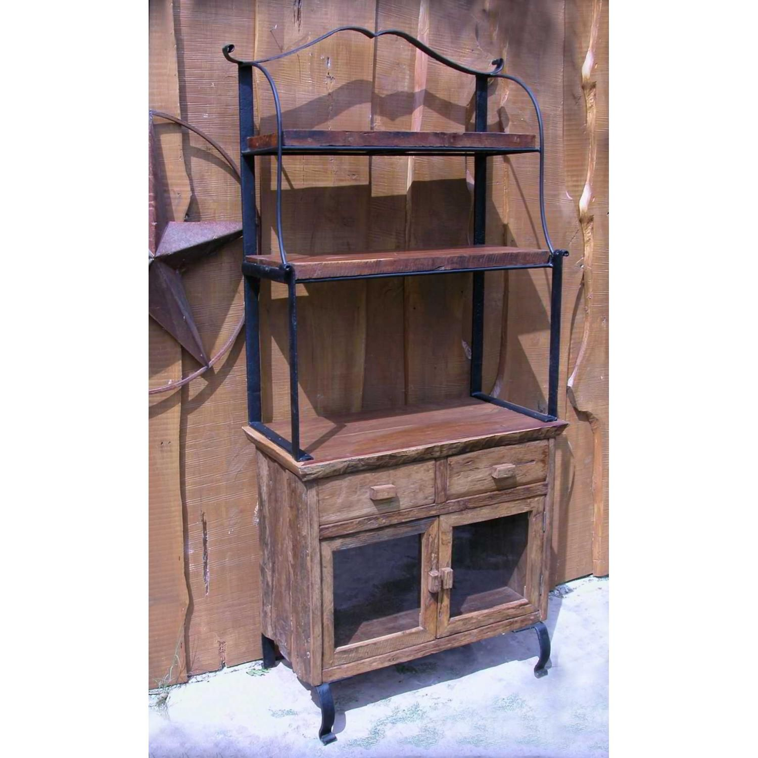 Antique Wooden Bakers Rack Bakers Rack Industrial Bakers Racks