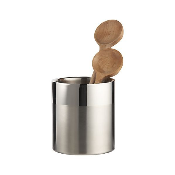Double Wall Utensil Holder | Crate and Barrel