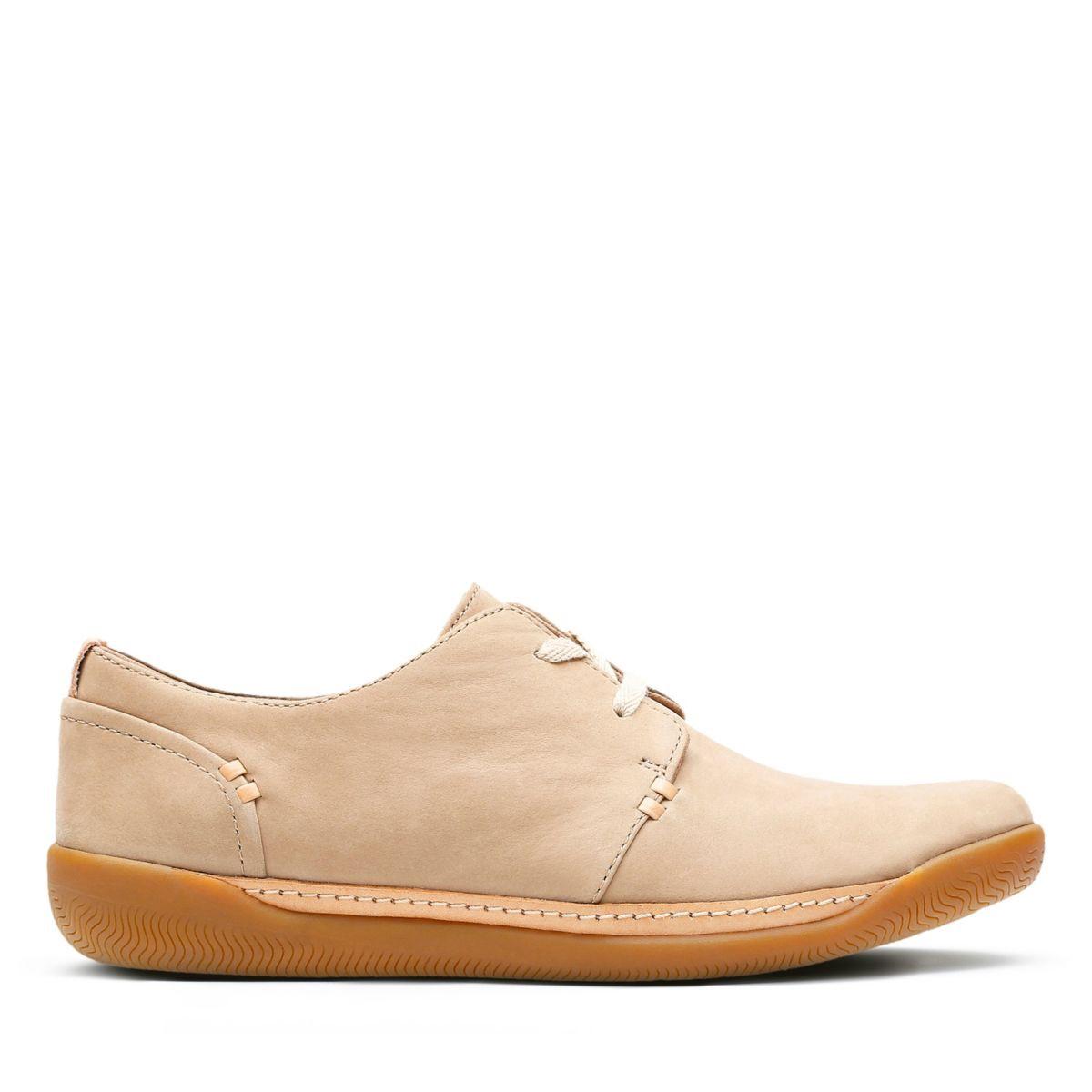 get new skate shoes official site Clarks Un Haven Lace - Womens Shoes Sand Nubuck 8.5 ...