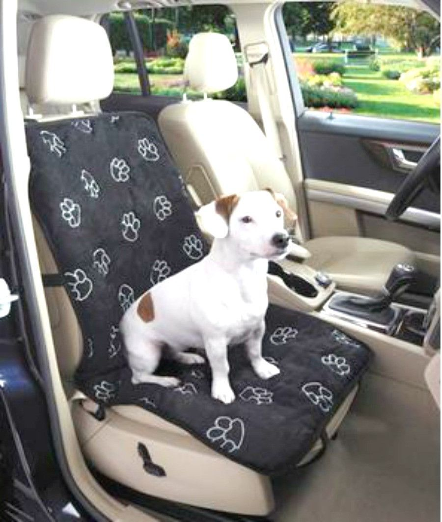 Pawprint Single Seat Car Cover