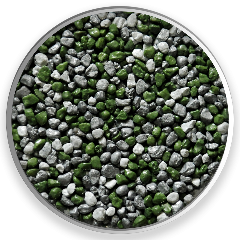 Seti. Farebné kamenivo dostupné v rôznych frakciách.  Vhodné pre kamenné koberce, mozaikové omietky, dekoračné účely, zoológiu. #art4you #art4youpodlahy #podlaha #podlahy #epoxid #polyuretanovépodlahy #polyuretan #epoxidovépodlahy #farebnékamenivo #farebnýpiesok