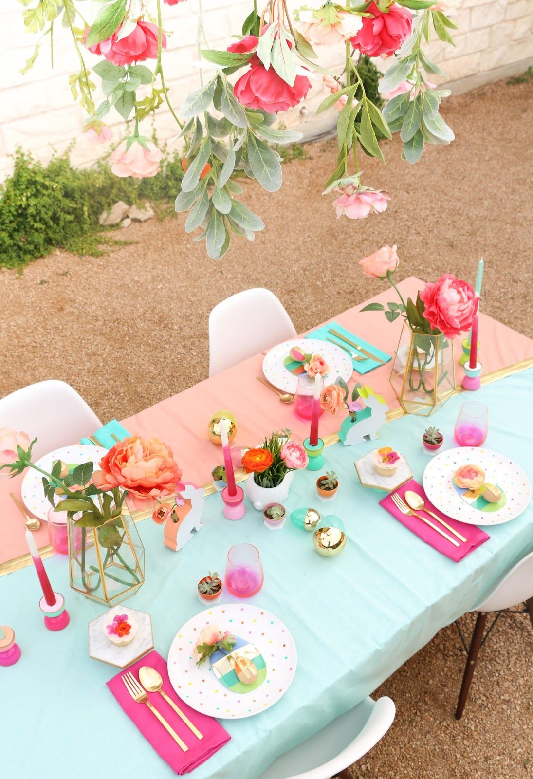 A Kailo Chic Life Style It - A Spring Table Setting : spring table setting - pezcame.com