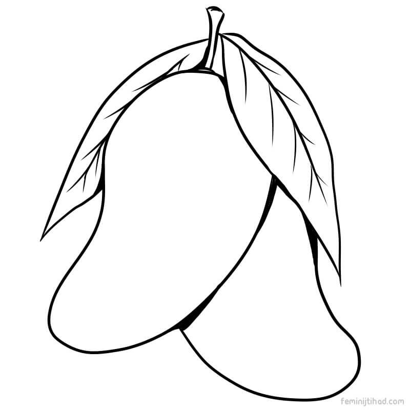Printable Mango Coloring Pages For Free Free Coloring Sheets Coloring Pages Fruit Coloring Pages Animal Coloring Pages