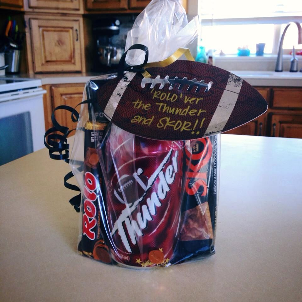 The motivational treat I made for my sons football team ...