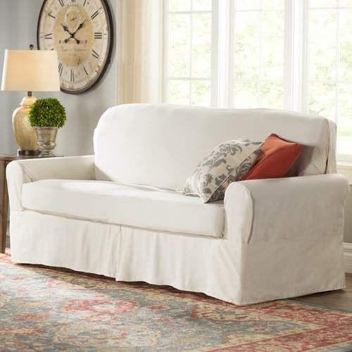 Box Cushion Sofa Slipcover Cushions
