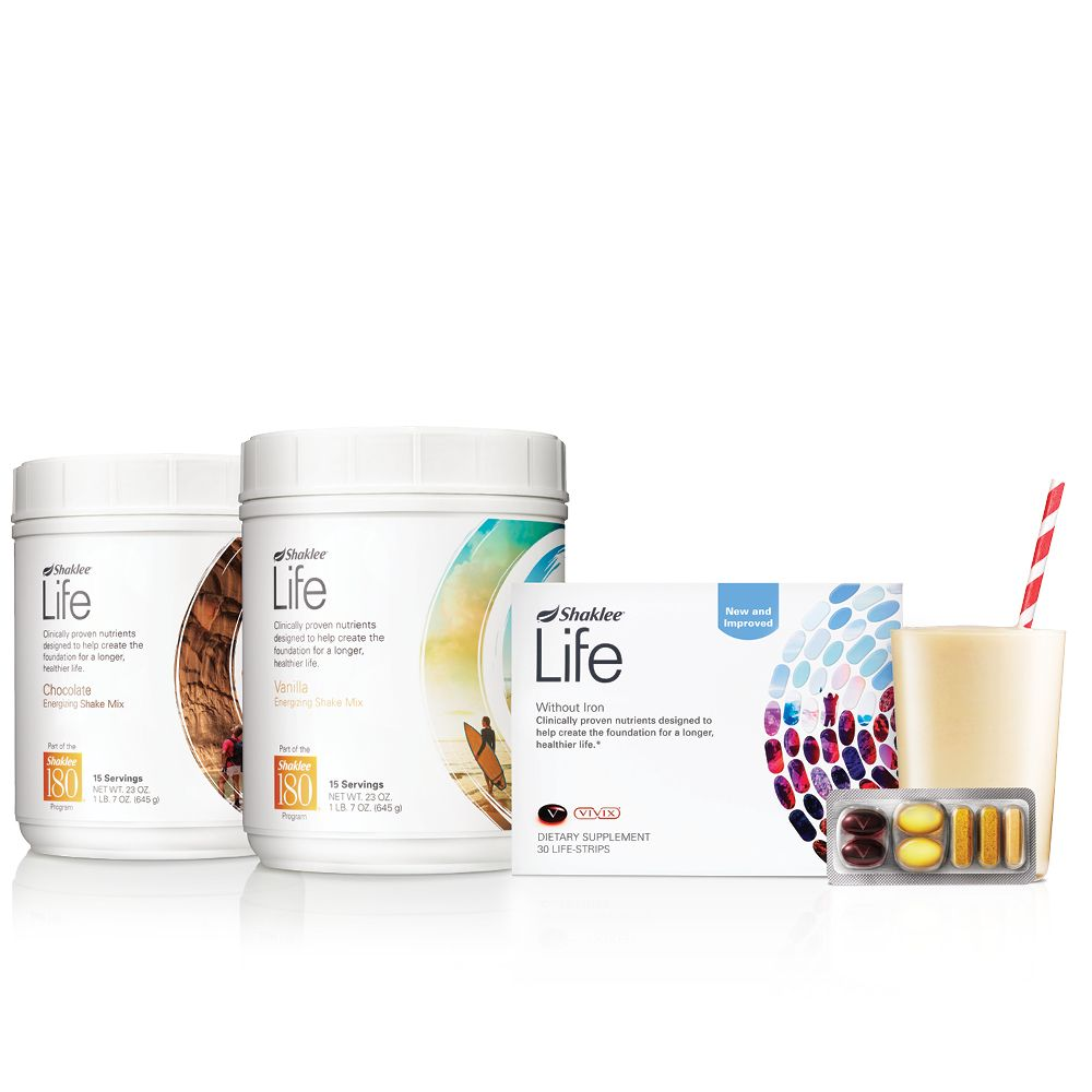 Shaklee Life Plan Feel amazing with the best, most