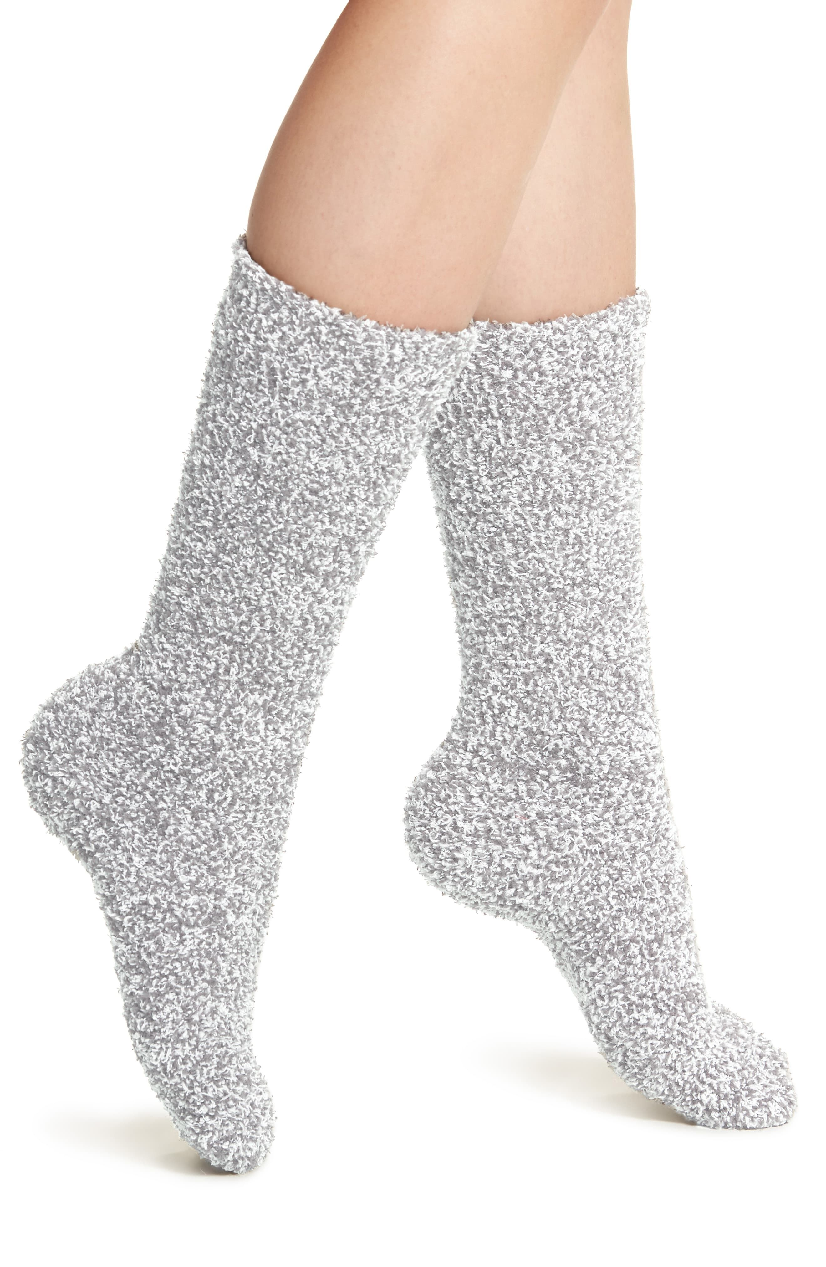 Made from Barefoot Dreams' plush CozyChic knit for ultimate warmth and softness, these socks will become fast down-time favorites. Style Name:Barefoot Dreams Cozychic Socks. Style Number: 5300765_2. Available in stores.