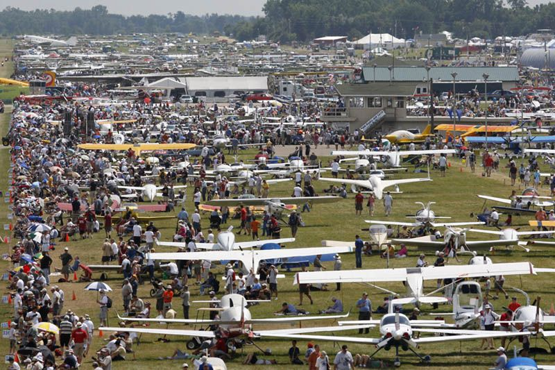 EAA Airventure Oshkosh late July Oshkosh, Aviation