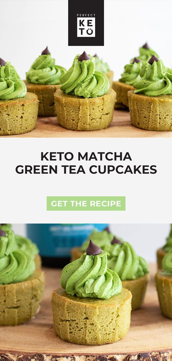 Photo of Keto Matcha Green Tea Cupcakes – Perfect Keto
