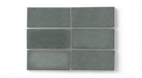 3 X 6 Cyclone Tile | Eco Friendly Handmade Tile | Fireclay Tile