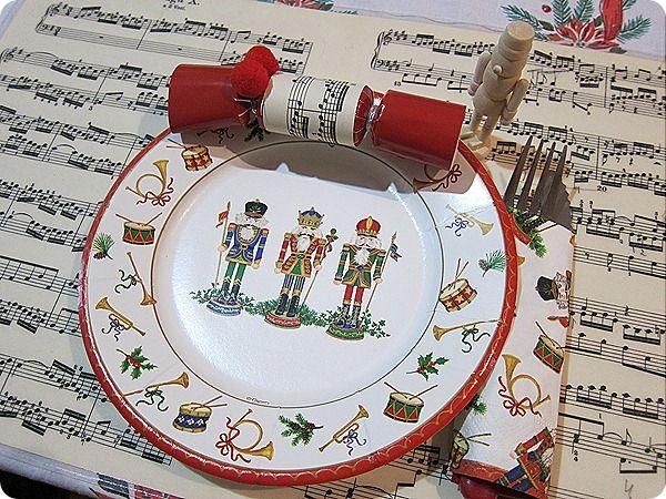 Explore Nutcracker Ornaments and more! & Nutcracker placesetting   Tablescapes   Pinterest   Christmas table ...