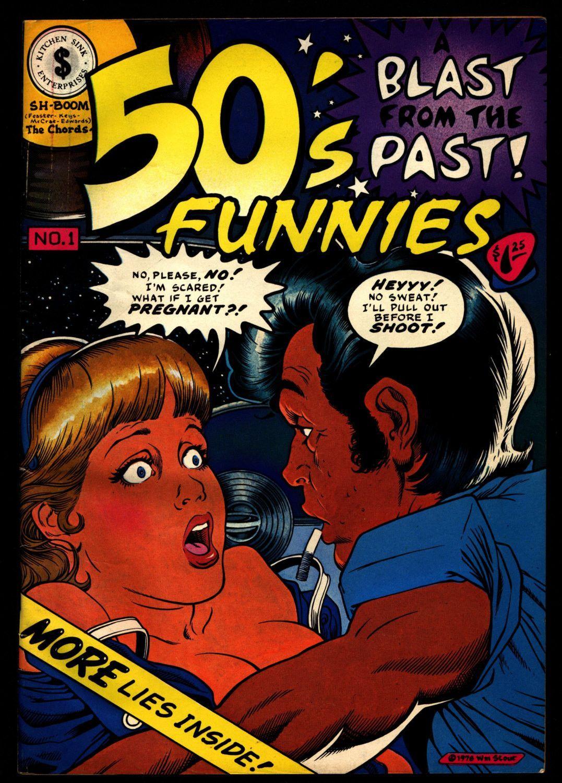 Underground sex comicbook