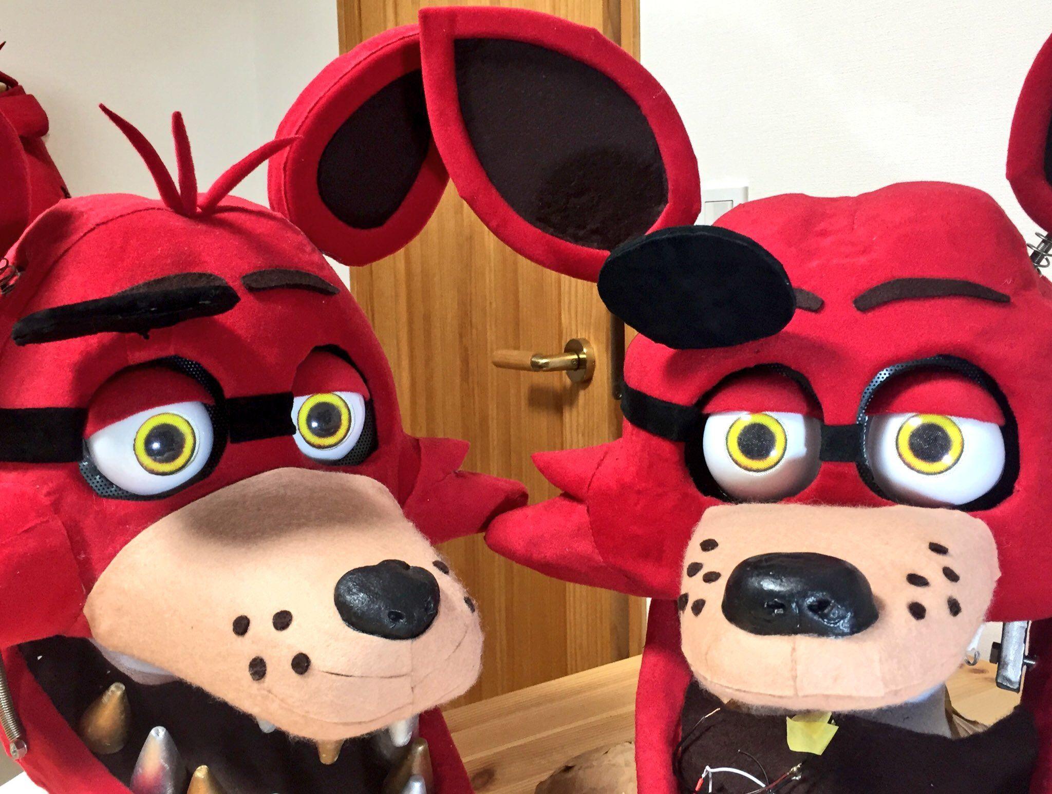 FNAF Foxy Head Furrysuit