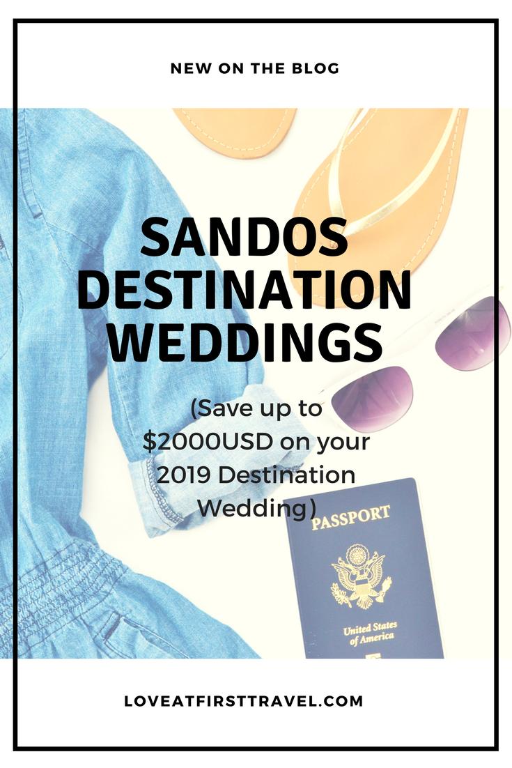 Sandos Destination Weddings in Mexico all have private wedding ...