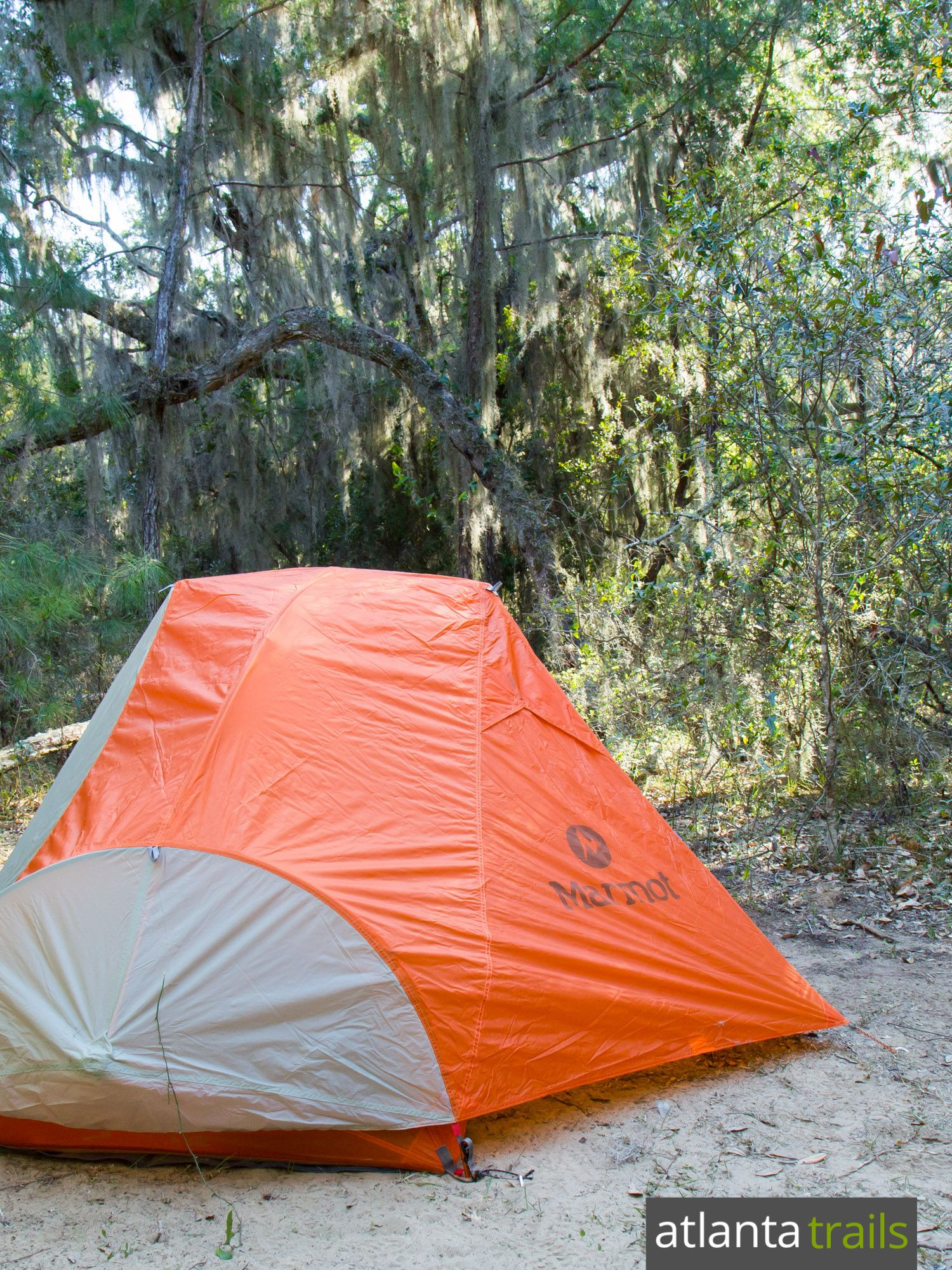 Backpacking or camp on the remote, beautiful Cumberland Island on Georgia's southern coast