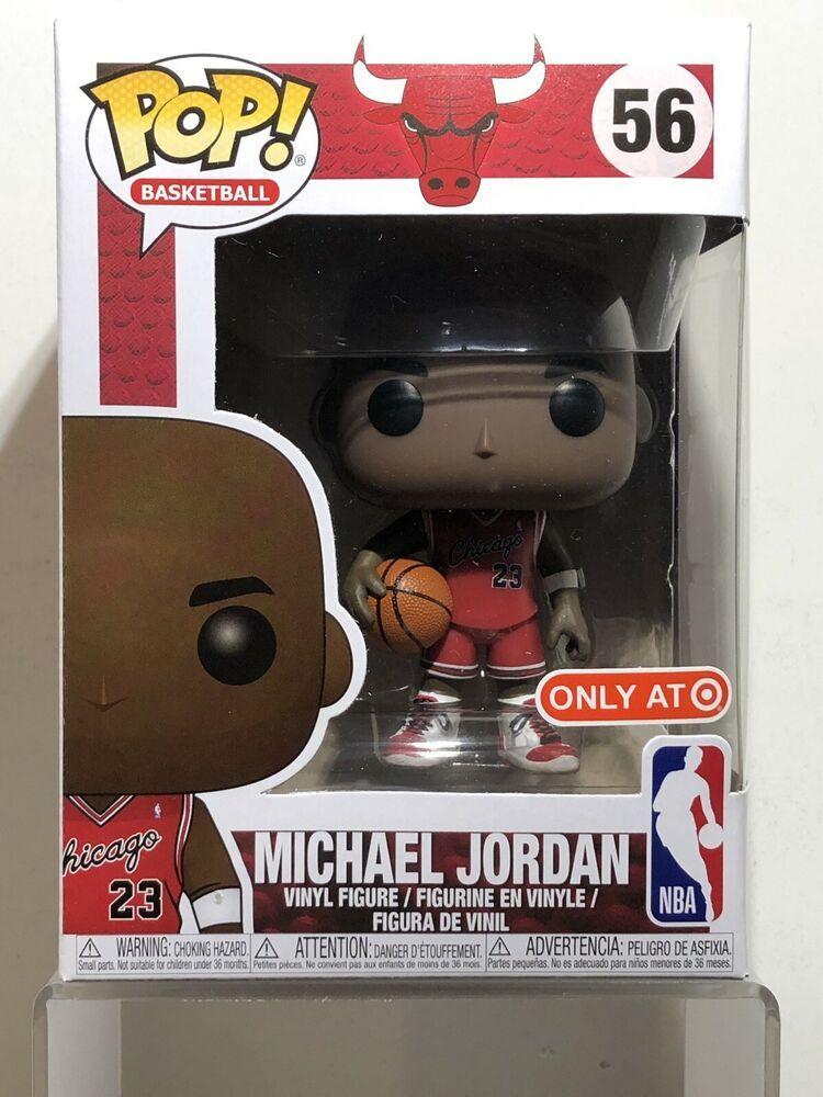 In Hand!!!!!! NBA Michael Jordan  Funko Pop #56 Chicago Bulls Target Exclusive