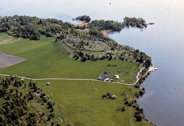 Birka and Hovgården, Björkö island, Stockholm county, Sweden